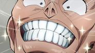 Okuyasu's new teeth
