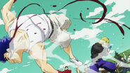 Dio punching Jonathan at boxing match