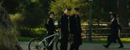 Josuke, koichi and Okuyasu saying yo to Angelo