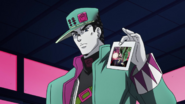 Jotaro discovers ATH's weakness