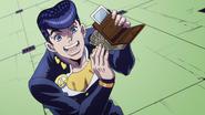Josuke steals Joseph's wallet