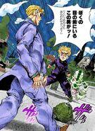 Koichi fights SHA