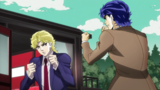 Jonathan want to fight with Dio