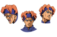 Squalo anime faces