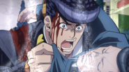 Okuyasu's 'death'