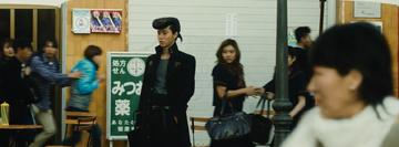 Josuke at a hostage situation