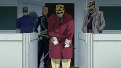 Joseph arrives at Morioh