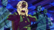 Koichi screaming