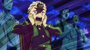 Koichi screaming