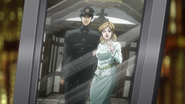 Jotaro and Holy Kujo portrait Anime