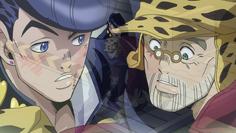 Josuke and Joseph meet