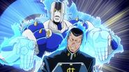 Okuyasu and The Hand