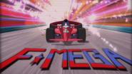 F-Mega title screen in anime