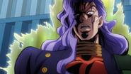 Akira threatening Josuke