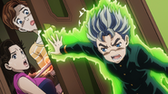 Koichi protects mom and sis anime