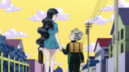Yukako and Koichi happy together