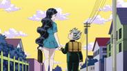 Yukako and Koichi happy together