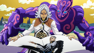 Terunosuke trapped Yuya in paper