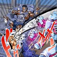 Yuya attacked by Crazy Diamond