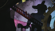 Anubis silhouette