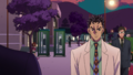 Kira being spyed on by Hayato