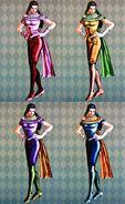 LisaLisa ASB DiffColor Costume