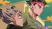 Koichi mad at Rohan's emotion