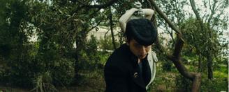 Josuke fighting Okuyasu