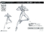 Hierophant Green anime ref (5)