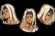 Tiziano anime faces