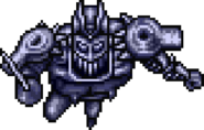 Silver Chariot sprite in SFC game