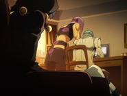 Melone Ghaccio Nero Glimpse Anime