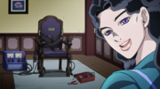 Yukako and her electric chair.png