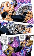 Abbacchio hand grabbing