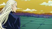 Mikitaka admires Morioh