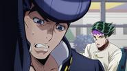 Josuke trying to ignore Rohan