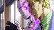 Kira activates the doorknob