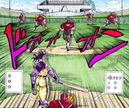 Baseball Gameplay in manga