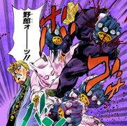 Killer Queen punching