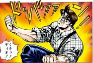 Jonathan angry about Dio Chap 3