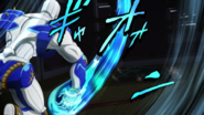 The Hand swipes Koichi over