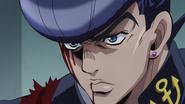 Josuke accepts Okuyasu's death