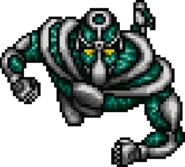 Hierophant Green sprite in SFC game