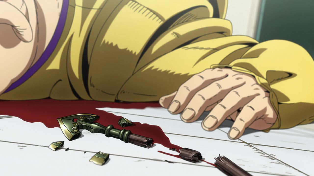 Bow And Arrow Jojo S Bizarre Wiki Fandom This stand is just op, erases 10 seconds of time and skips it, while king crimson is erasing time, he can't touch anything but he can use epitaph to see what the enemy will do in the next 10 seconds, using epitaph his real stand is called the speed wagon foundation. bow and arrow jojo s bizarre wiki