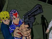 Giorno and Mista PS2
