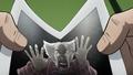 Yoshihiro being folded