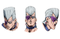 Polnareff faces