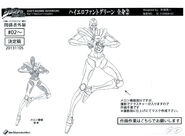 Hierophant Green anime ref (4)
