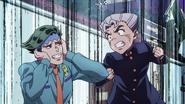 Koichi mad at lewd Rohan