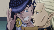 Josuke wants Mikitaka to help him cheat